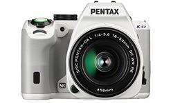 Pentax K-S2 18-50 + 50-200 kit White