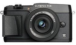 Olympus Pen E-P5 EZ-M1442EZ + CSS-S110 kit Black