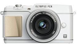 Olympus Pen E-P5 EZ-M1442EZ + CSS-S110 kit White