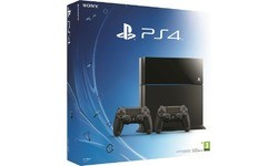 Sony PlayStation 4 500GB + 2x DualShock Controller