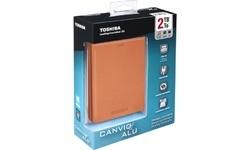 Toshiba Canvio Alu 3S 2TB Red