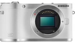 Samsung NX300 M 18-55 + 50-200 kit White