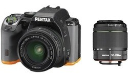 Pentax K-S2 18-50 + 50-200 kit Black/Orange