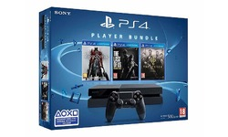 Sony PlayStation 4 500GB + Bloodborne + The Last of Us + The Order 1886