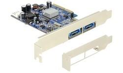 Delock 2-Port eSATA PCI-e Card LP