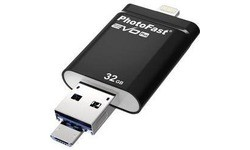 PhotoFast i-FlashDrive Evo Plus 32GB Black