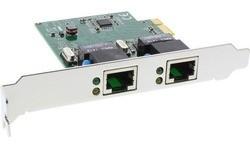 InLine 2x Gigabit Ethernet PCI-e