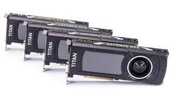 Nvidia GeForce GTX Titan X SLI (4-way)
