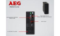 AEG Power Solutions Protect B 750 UPS 750 VA
