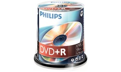 Philips DVD+R 16x 100pk Spindle
