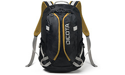 Dicota Backpack Active Black/Yellow 15.6""