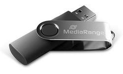 MediaRange Flexi Blister MR908 8GB Black/Silver