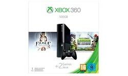 Microsoft Xbox 360 500GB + Fable + Plants vs Zombies