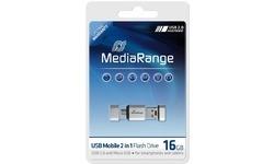 MediaRange MR931 16GB Silver
