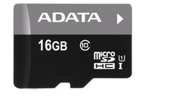 Adata MicroSDHC UHS-I 16GB + Adapter