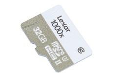 Lexar MicroSDHC UHS-II U3 1000x 32GB + Adapter