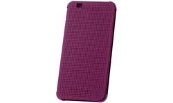 HTC Desire Eye Dot View Case Purple
