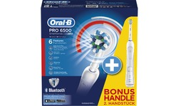 Oral-B Pro Series Cross Action 6500 Duo Handle