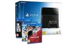 Sony PlayStation 4 500GB + DriveClub + LittleBigPlanet 3 + The Last of Us