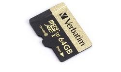 Verbatim MicroSDXC Pro+ UHS-I U3 64GB