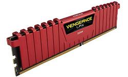 Corsair Vengeance LPX Red 8GB DDR4-2400 CL14 kit