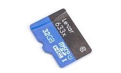 Lexar MicroSDHC UHS-I 633x 32GB + Adapter