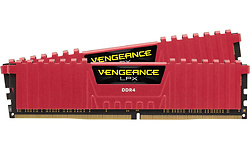 Corsair Vengeance LPX Red 16GB DDR4-3000 CL15 kit
