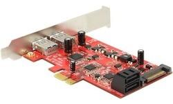 Delock 2-Port USB 3.0 LP PCI-e Card