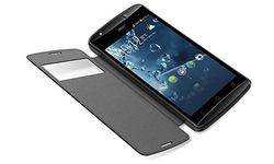Acer Liquid E700 Flip Cover Black