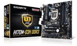 Gigabyte H170M-D3H DDR3