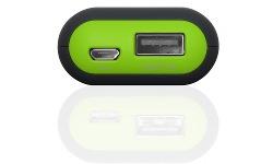 TerraTec Powerbank P2 5200 Black/Green