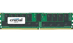 Crucial 128GB DDR4-2400 CL17 ECC Registered quad kit