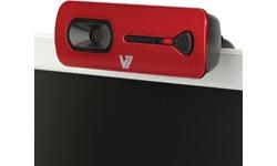 Videoseven V7 Elite HD Webcam 2000 Red