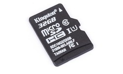 Kingston MicroSDHC UHS-I G2 32GB + Adapter