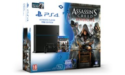 Sony PlayStation 4 1TB + Assassin's Creed: Syndicate + Watch Dogs