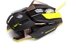 Mad Catz R.A.T. Pro X Gaming Mouse Pixart 9800 Black/Green