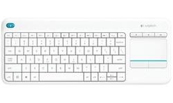 Logitech Wireless Touch Keyboard K400 Plus White