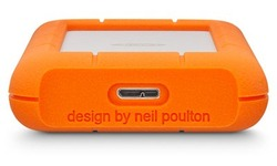 LaCie Rugged Mini 4TB Silver/Orange