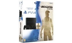 Sony PlayStation 4 1TB + Uncharted + 2x Controller
