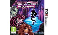 Monster High: New Ghoul In School (Nintendo 3DS)