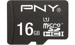 PNY High Performance MicroSDHC UHS-I 16GB + Adapter