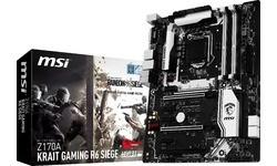 MSI Z170A Krait Gaming R6 Siege