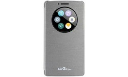 LG Electronics Quick Circle Book-Cover for 4s Silver