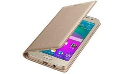 Samsung Flip Cover Samsung Galaxy A3 Gold