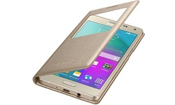 Samsung S-view Cover Gold Galaxy A5