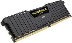 Corsair Vengeance LPX Black 64GB DDR4-3333 CL16 quad kit