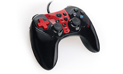 Genesis Wired Controller P44 Black/Red