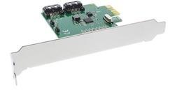 InLine 2-Port SATA PCIe Card