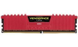 Corsair Vengeance LPX Red 4GB DDR4-2400 CL16