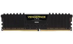 Corsair Vengeance LPX Black 8GB DDR4-2400 CL16